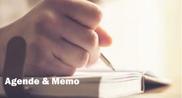 Agende & Memo