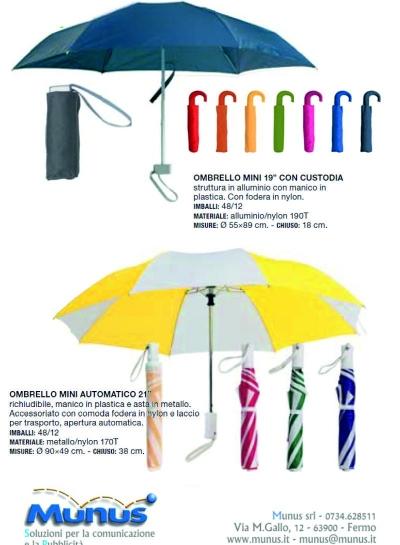 Ombrelli – Munus comunicazioni – Fermo