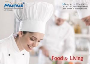 Food - camerieri e barman - Munus gadget e abbigliamento personalizzato