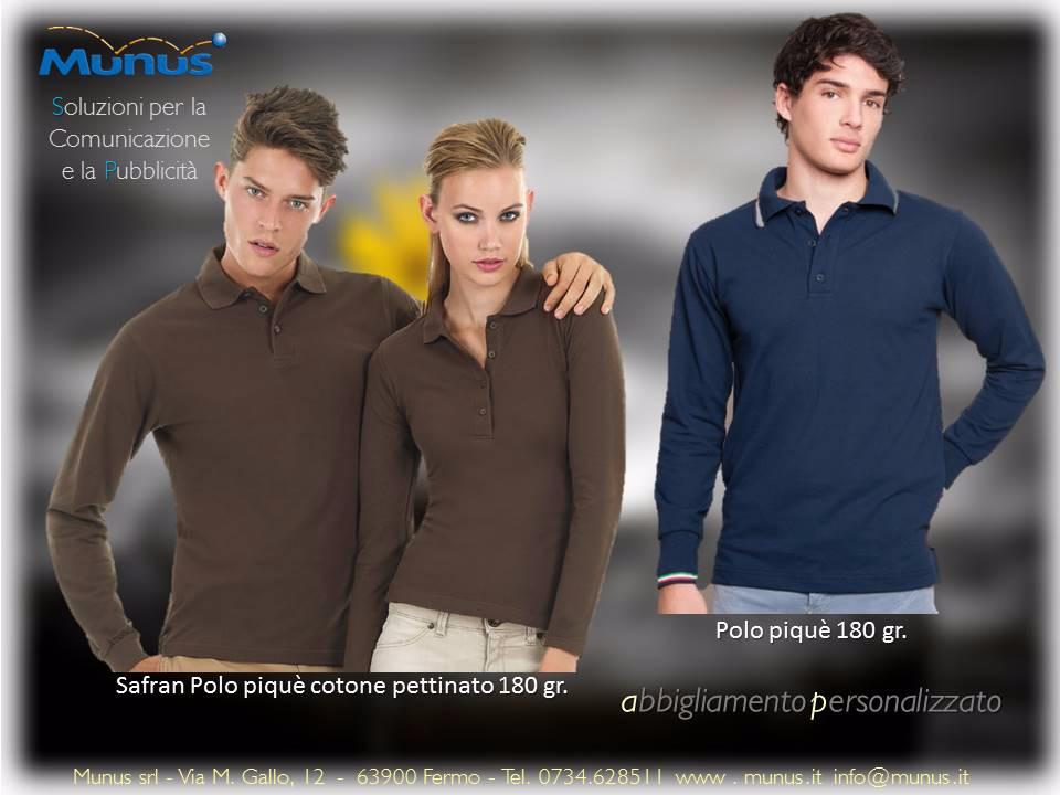 Munus pubblicità fermo – abbigliamento personalizzato polo