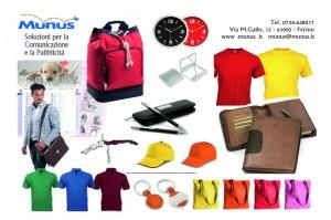 Gadgets - Munus pubblicità - Fermo