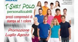 Promozione Polo e T-shirt Estate 2015