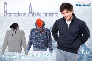 Abbigliamento personalizzato - felpe - Munus pubblicità - Fermo