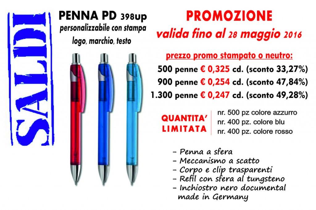 promozione penne - munus pubblciità  - fermo